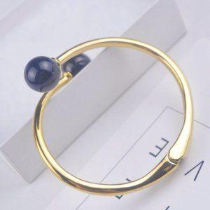Kate Spade Black Pearl Opening Bracelet